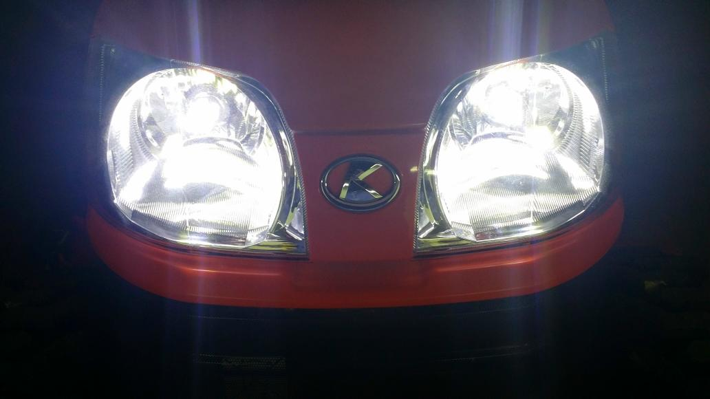 Kubota Tractor Headlight : B led headlights mytractorforum the