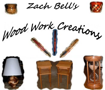 Zach Bell's Wood Work Creations Website Banner